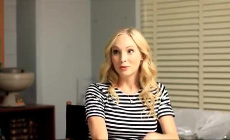 Candice King Teases Caroline Forbes, The Vampire Diaries Season 7