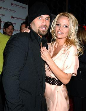 Pamela Anderson and Rick Salomon