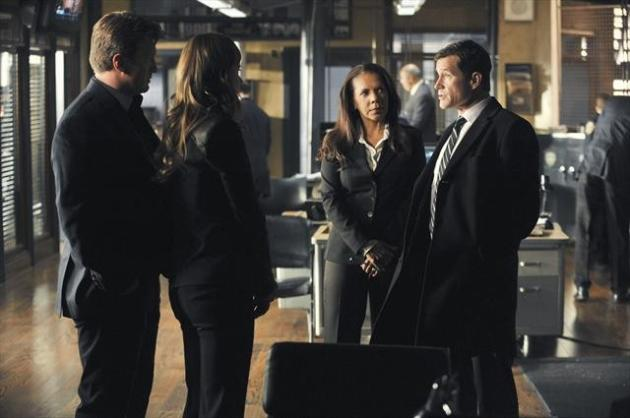Dylan Walsh on Castle