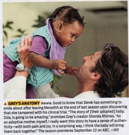 Derek and Zola!