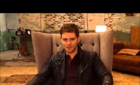 The Originals - Joseph Morgan Talks Hope, Fatherhood