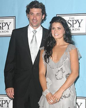 Dempsey with Danica