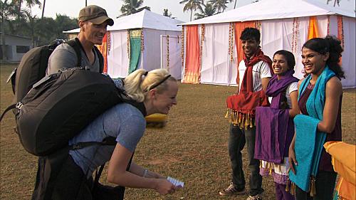 Dave & Rachel Dance In India