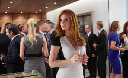 Suits EXCLUSIVE: Sarah Rafferty on Louis Drama, Fractured Friendships & Flashbacks!