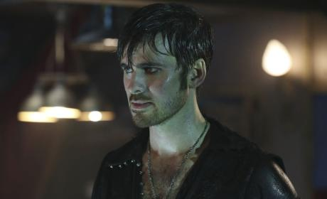Hook is Drenched - Once Upon a Time Season 6 Episode 6