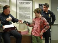 Luke at a Police Station