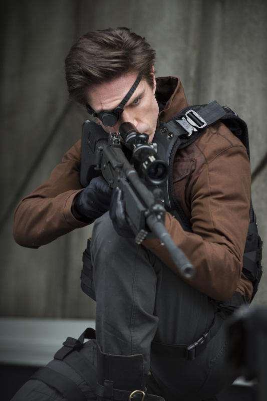"Michael Rowe as Floyd ""Deadshot"" Lawton"