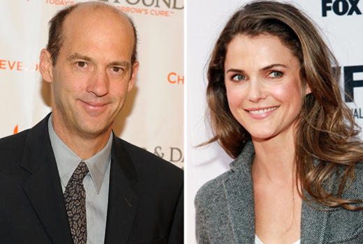 Keri Russell and Anthony Edwards