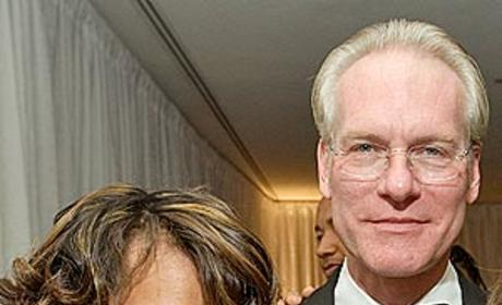 Tim Gunn Poses with Sanjaya Malakar