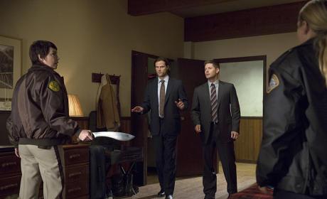FBI to the Rescue - Supernatural Season 10 Episode 8