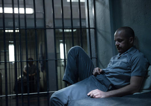 Ray Seward sits in prison