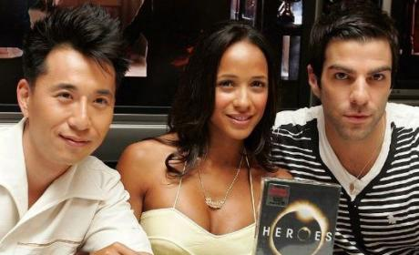 A Heroes Welcome: Cast Pimps Out DVD, Season Two