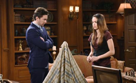 Chad Tells Ciara The Truth - Days of Our Lives