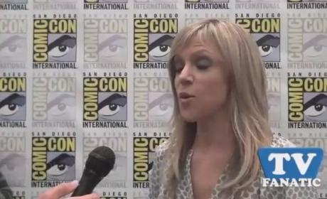 Kaitlin Olson at Comic Con