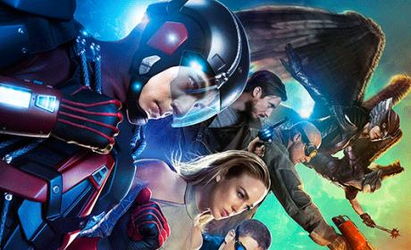 DC's Legends of Tomorrow Key Art: Their Time is Now