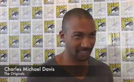 Charles Michael Davis Comic-Con Interview