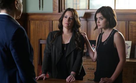 Mess With My Daughter, You Mess With Me - Pretty Little Liars Season 6 Episode 8