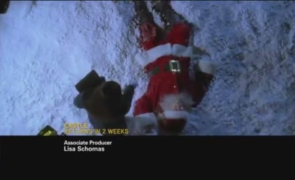 Castle Christmas Promo: No More Santa?!?