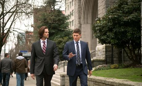 Sam and Dean Walking - Supernatural Season 10 Episode 16