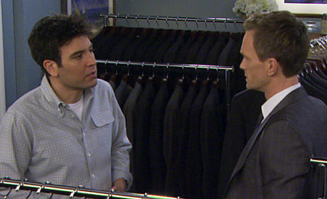 Ted and Barney Moment
