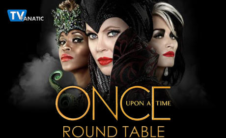 Once Upon a Time Round Table: Find Your Happy Ending