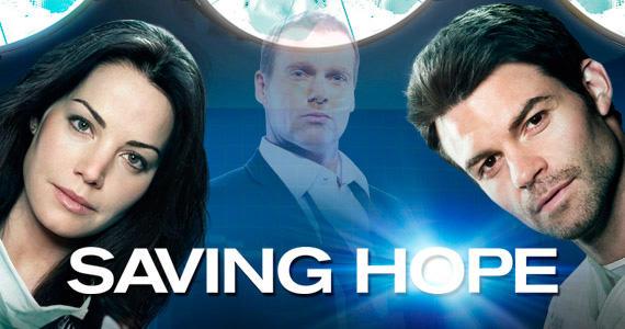 Saving Hope Cast Photo