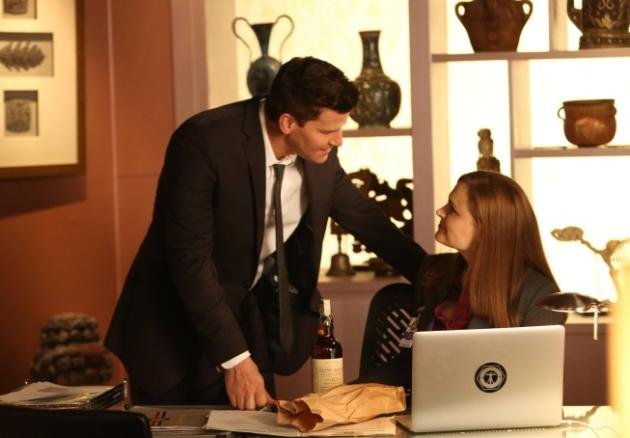 Booth and Brennan Look Concerned
