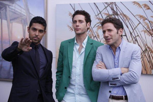 Wilmer Valderrama on Royal Pains