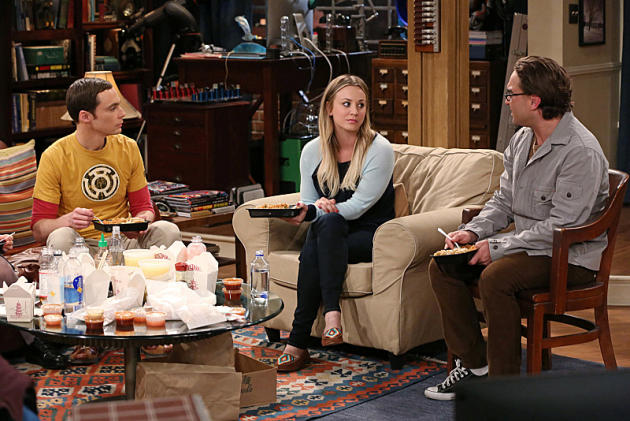 Penny Talks to Leonard and Sheldon