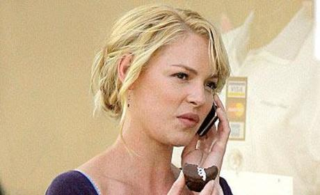 Katherine Heigl Takes Break, Multi-tasks