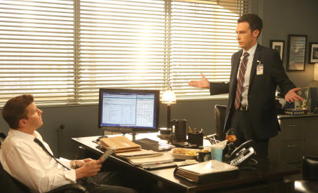 Booth Has Concerns About Aubrey Working on the Current Case - Bones Season 10 Episode 7