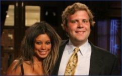 David Olsen and Jasmine Moore