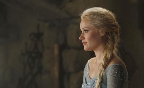 Elsa on the Once Upon a Time