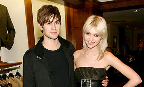 Chace Crawford, Taylor Momsen Attend Benefit