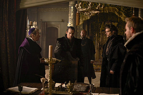 Scene from the Tudors