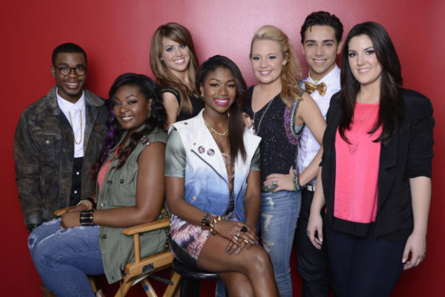 American Idol Top 7 Pic