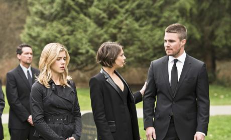 You okay? - Arrow Season 4 Episode 19