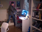 Dean Breaking Computers - Supernatural Season 10 Episode 13