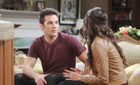 JJ and Paige Make Progress - Days of Our Lives