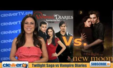 Vampire Diaries vs. Twilight Saga