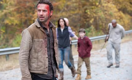 The Walking Dead Season Finale Review: Burning Down the House