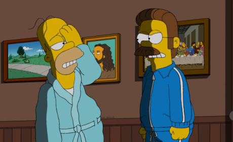 Homer's Black Eye