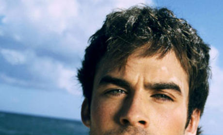 Ian Somerhalder Tries to Preview Return to Lost
