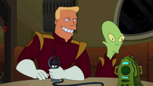 Zapp Brannigan on Futurama