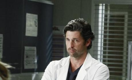 Derek Looking Stoic