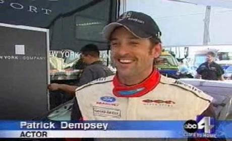 Patrick Dempsey, Revving up for Season Three, Takes Racing Break