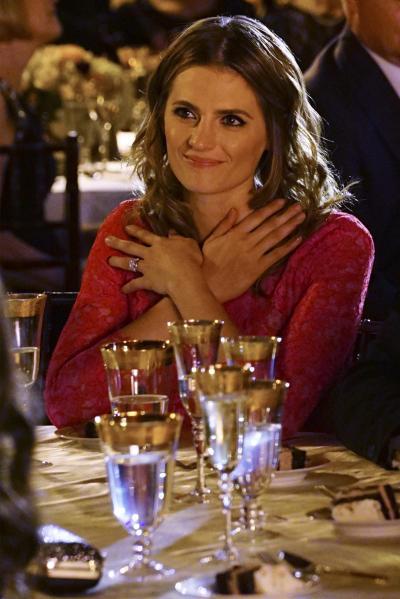 Beckett is Beaming - Castle Season 7 Episode 23