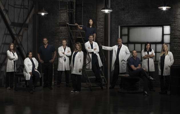 Grey's Anatomy Season 9 Cast Photo