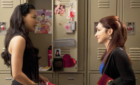 Santana and Her Mom