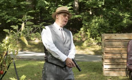 Red is locked and loaded - The Blacklist Season 4 Episode 4